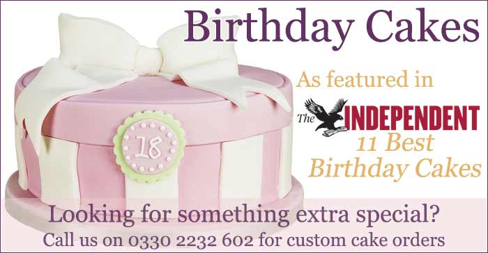 Send Birthday Cakes Celebration Novelty Delivered By Post