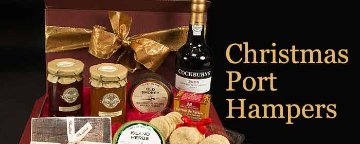 Christmas Hampers With Port