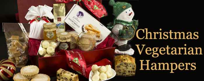Christmas Vegetarian Hampers