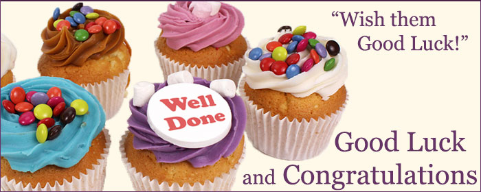 Well Done & Congratulations