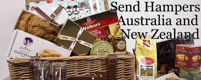 Send Hampers Australia and New Zealand