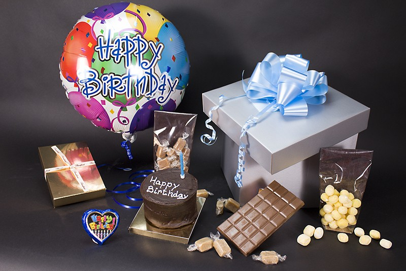 Birthday Chocolate Celebration Gift Box