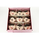 Funny Faces - Gift Box of 9