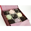 Chocolate and Iced Cupcakes - Gift Box of 9