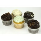 Chocolate and Iced Cupcakes - Box of 6