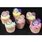 Chocolate Coin Cupcakes - Box of 6