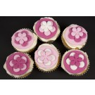 Pretty in Pink Cupcakes - Gift Box of 16