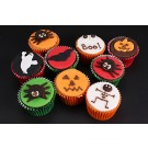 Halloween Spooky Gift Cupcakes - Box of 9