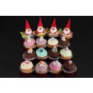 Santas Little Helpers Christmas Cupcakes - Box of 16