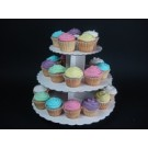 Party Cupcakes With Stands