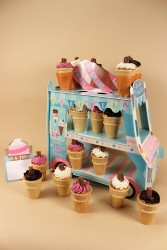 Ice Cream Van Stand with Cupcakes