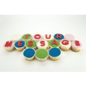 Your Message Cupcakes
