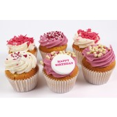 Personalised Strawberry and Cream Sensations - Box of 6