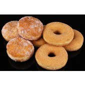 Premium Apple with Cinnamon and Jam Filled Doughnuts - Box of 8