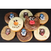 Rudolph's Christmas Doughnuts - Box of 8