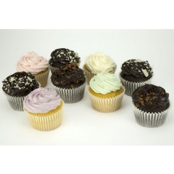 Chocolate and Iced Cupcakes