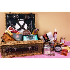 Country Picnic Hamper for Two