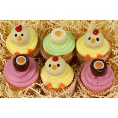 Cheeky Chick Cupcakes - Box of 6