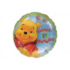 Winnie the Pooh 1st Birthday Balloon Bouquet