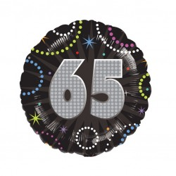 A Time to Party 65th Balloon