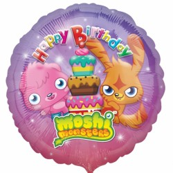 Moshi Monsters Birthday Balloon