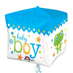 Cubez Blue Baby Boy Balloon