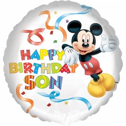 Mickey Mouse Son Birthday Balloon