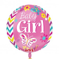 Beautiful Baby Girl - Orbz Balloons