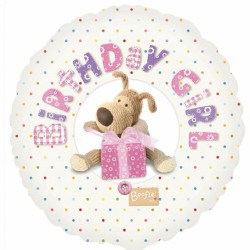Boofle Pink Birthday Girl Balloon