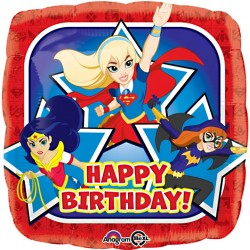 DC Superhero Girls Birthday Balloon