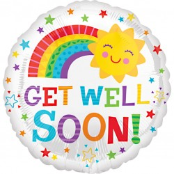 Get Well Soon Sunshine Balloon