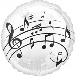Music Notes Balloon