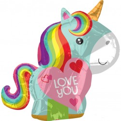 Unicorn Love You Balloon