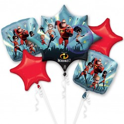Disney Pixar Incredibles Balloon Bouquet