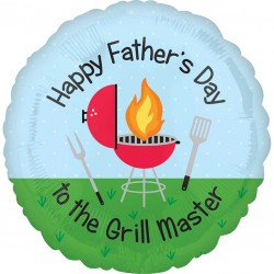 Barbecue Fathers Day Balloon