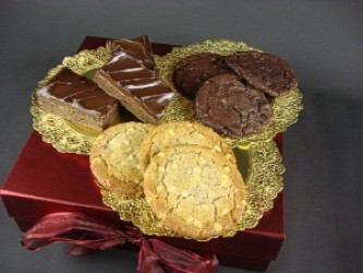 Chocolate Brownies and Cookies Selection Gift