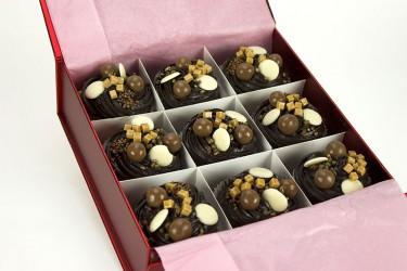 Malteser Cupcakes - Gift Box of 9