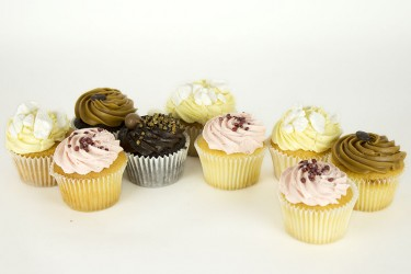Lemon, Strawberry and Cappuccino Selection