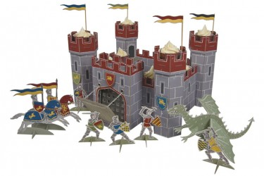 Knights and Castles Party Cupcakes
