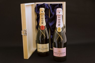 Moet Double Champagne Case