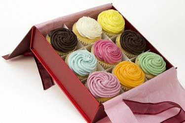 Cupcakes Boxed - Gift Box of 9
