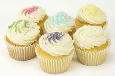 Vanilla Cupcakes - Box of 6