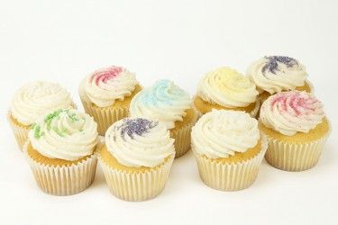 Vanilla Cupcakes - Gift Box of 16