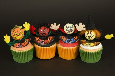 Spooky Cupcakes  - Box of 6