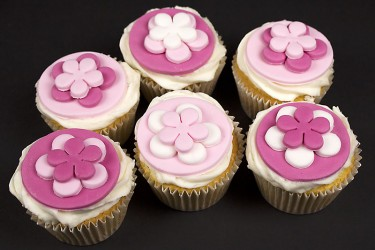 Pretty in Pink Cupcakes - Box of 6