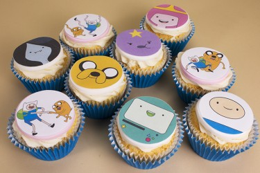 Your Favourite Character Cupcakes - Box of 9