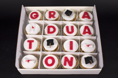 Graduation Cupcakes - Box of 16