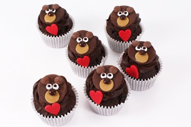 Bear Hugs Cupcakes - Box of 16