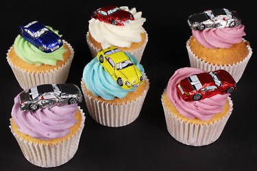 Grand Prix Cupcakes - Box of 6