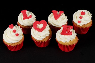 Love Cupcakes - Box of 6